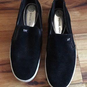 Suede Michael Kors Slip on Sneakers